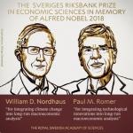 노벨경제학상에 美노드하우스·로머…'지속 가능한 성장' 연구