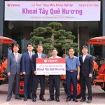 오리온, 베트남 감자농가에 1억원 상당 농기계 지원