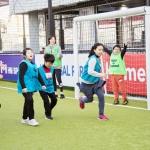 홈플러스, 옥상 풋살파크서 발달장애인 축구교실 개최