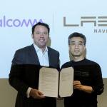 네이버랩스-퀄컴, 미래기술 개발 협력 위한 MOU 체결