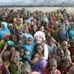 구혜선, 아프리카 차드 어린이들과 교류…'희망' 심었다