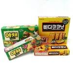 롯데제과, 빠다코코낫-야채크래커 품질 업그레이드