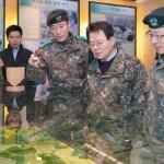 김광수 NH농협금융 회장, 설맞이 군부대 위문 방문
