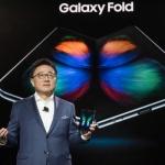 삼성전자, 첫 폴더블 폰 '갤럭시 폴드' 공개