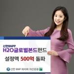 신한BNPP운용 'H2O글로벌본드펀드', 설정액 500억 돌파
