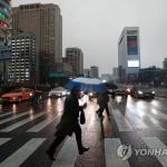 [내일날씨] 전국적으로 내리는 '봄비'…미세먼지는 '나쁨'