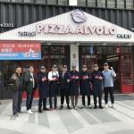 피자알볼로, 중국 상해 3호 매장 창슈루점 오픈