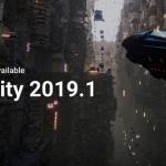 유니티 테크놀로지스, 유니티 2019엔진 첫 버전 '유니티 2019.1' 공개