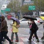 [내일날씨] 전국 흐리고 비…일교차 크게 벌어져