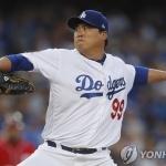류현진, 옐리치에 2피홈런 허용…복귀전 호투에도 패전