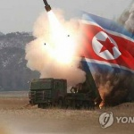 """북한 호도반도 발사체, '단거리 미사일' 아닌 '단거리 발사체'…합참 """"대비태세"""""""