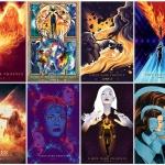 엑스맨: 다크 피닉스, 해외 팬아트 포스터 10종 공개‥'압도적인 비주얼'