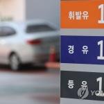 휘발유 가격 13주 연속 오름세…5개월여 만에 1500원 돌파