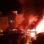 '구미 화재' 4시간 넘게 불길…인명 피해는 없어