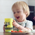 토미티피, 아이들 컵 사용 연습위한 흘림·쓰러짐 방지 컵 2종 출시