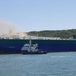 현대車 2천여대 이송 선박에 불