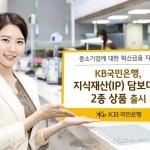 KB국민은행, 지식재산(IP) 담보대출 2종 상품 출시