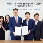 IBK기업은행, 서울대 빅데이터연구원과 '캡스톤 프로젝트' 업무협약
