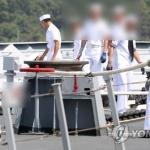 해군 청해부대 환영식 참변…군인 5명 사상