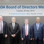 NH농협생명, 아시아·오세아니아 지역 협동조합기반보험연합회 이사회 개최