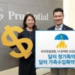 푸르덴셜생명, '달러평생보장보험' 특약 2종 출시