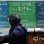 '가계부채' 소득 대비 빚 부담 ↑…증가세는 둔화