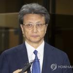 '삼바 증거인멸 관여' 정현호 삼성전자TF 사장 17시간 검찰 조사