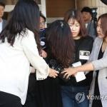 '전 남편 살해' 고유정 검찰 송치…고개 푹 숙인 채 묵묵부답