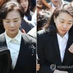 '국적기 밀수' 조현아·이명희, 집행유예 2년 벌금 480만원