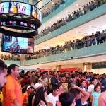 LG전자, 인도 구르가온 엠비언스몰에 크리켓 월드컵 응원 위한 행사장 마련