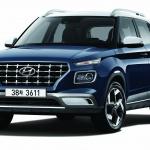 현대차 1인 엔트리 SUV '베뉴' 新사양…동급 최고 연비