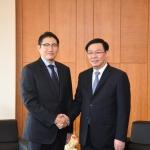 효성 조현준 회장, 베트남 부총리와 사업 협력 논의