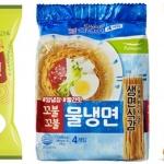 물 만난 여름 계절면, 매콤새콤 vs 색다른 맛 신제품 '봇물'
