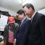 김태영 은행연합회 회장, 폭염대비 취약 독거노인 현장방문
