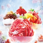 파리바게뜨, 화려한 비주얼의 '딸기라떼 꽃빙수' 출시