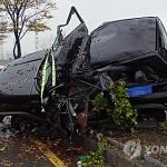 빗길 교통사고 위험 평소 1.2배…치사율은 3.1배 '껑충'