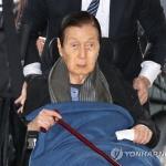 롯데 신격호 명예회장, 기력 회복...11일 만에 퇴원