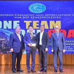 신한은행 마닐라지점, 필리핀 중앙은행 '신뢰성 있는 리포트 상' 수상