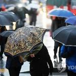 [오늘날씨] 전국 곳곳 빗방울…수도권 미세먼지 '나쁨'