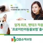 DB손보, 펫테크 적용 '프로미반려동물보험' 출시