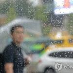 [내일날씨] 오전까지 장맛비…오후부터 30도 이상 '폭염'