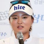 고진영, 에비앙 챔피언십 우승컵 주인 됐다