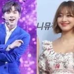 강다니엘-지효, '아이돌 커플' 등극