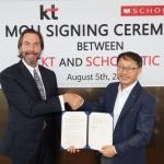 KT-스콜라스틱, 키즈 영어교육 콘텐츠 사업 MOU 체결