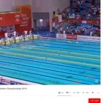 '광주세계마스터즈수영대회' 실시간으로 관람한다