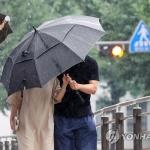 [오늘날씨] 전국 곳곳 비…더위 한풀 꺾여