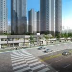 대우건설, '포일 센트럴 푸르지오' 단지내 상가 분양