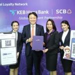 KEB하나, 국내 최초 태국 모바일결제서비스 출시