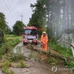 [오늘날씨] 초강력 태풍 '링링' 한국 상륙…강한 바람에 시설물 피해 속출
