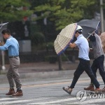 [오늘 날씨] 태풍 '링링' 갔지만 전국 곳곳 비 소식